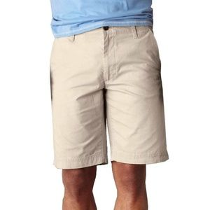 Dockers D2 Stitch Detail Flat Front Shorts, 42